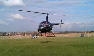 R22 doing a trial lesson